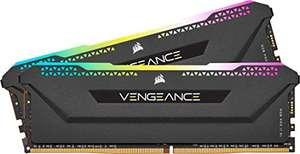 CORSAIR Vengeance RGB Pro SL 16GB (2x8GB) DDR4 3600 (PC4-28800) C18 1.35V Módulos de Memoria de Alto Rendimiento Optimizados para AMD Ryzen