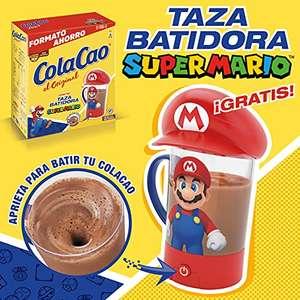 Cola Cao Original 2.7 Kg + Regalo de taza batidora de Súper Mario