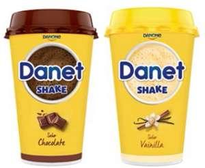 (Pack 10 Batidos) Danet Shake sabor Vainilla o Chocolate