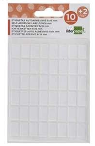 Pack de 216 etiquetas, 9 x 16 mm