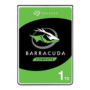 Disco duro interno HDD Seagate Technology Barracuda 1TB SATA 6 GB/s 5400rpm