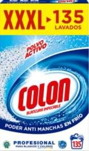 Colon Polvo Activo - Detergente para lavadora - 135 dosis, 7.037 kg