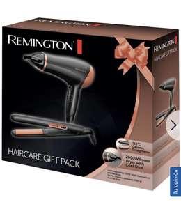 Pack Secador + Plancha Remington