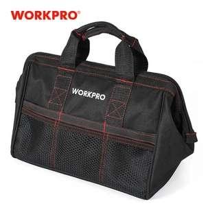 "Bolsa de herramientas WorkPro 600D 12""."