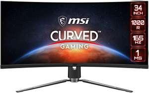 """MSI MPG Artymis 343CQR - 34"""" UltraWide Quad HD - LCD - Negro - 165Hz 9S6-3DB25T-001"""
