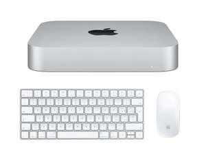 Apple Mac Mini con Chip M1 de Apple (8 GB RAM, 256 GB SSD) + Kit Apple Magic Keyboard + Apple Magic Mouse 2 Blanco