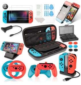 Kit de Accesorios para Nintendo Switch 19 en 1