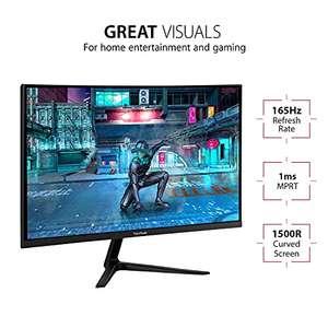 "Viewsonic VX3218-PC-MHD Monitor Gaming Curvo 32"" Full-HD, FreeSync Premium, 1 ms, 165 Hz, HDMI, DP"