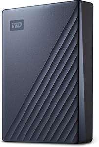 WD My Passport Ultra disco duro portátil 5TB con protección contraseña y software copia seguridad automática, Compatible con PC, Xbox y PS4
