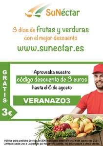 -3€ en Fruta y Verdura