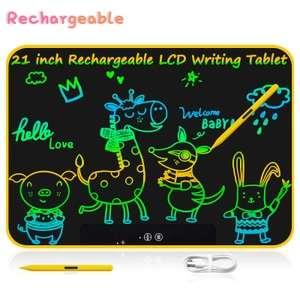 "Tableta de escritura LCD 15"" de colores"