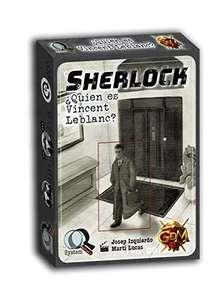 """Juego de cartas """"Sherlock: ¿Quien es Vincent Leblanc?"""""""