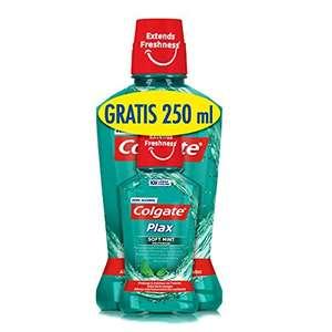 Enjuague bucal Colgate Elixir Plax 500ml + 250ml GRATIS