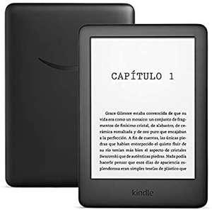"Amazon Kindle Black, Para eBook, 6"" 167 ppp LED, WiFi, Luz integrada regulable, 8 GB, Negro"