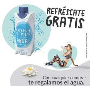 Agua fresquita de regalo gastando 0,5€ en Primaprix