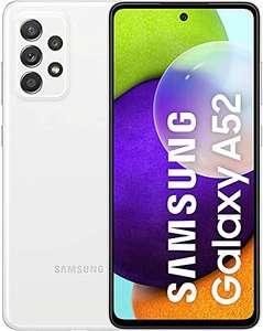 Samsung Galaxy A52 6,5 Pulgadas, 6 GB de RAM y 128 GB, 4500 mAh, Blanco
