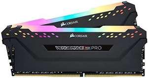 Corsair Vengeance RGB Pro 16GB (2x8GB) 3600MHz C18 - Negro