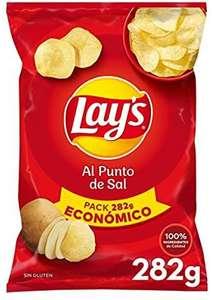 Lay'S Patatas Fritas Al Punto de Sal, 282g (más en descripción)