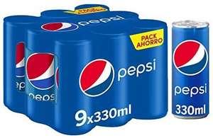 9X latas de Pepsi