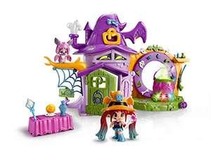 Juguete Pinypon - La Casa Encantada de Brujitas, con 1 figurita de Bruja
