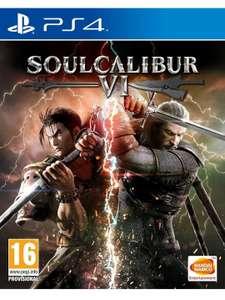 Soulcalibur VI - PS4 (Amazon y Mediamarkt)