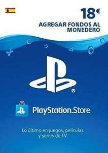Tarjeta Playstation Network 18 EUR