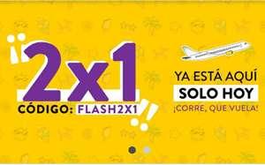 Solo hoy! 2x1 en vuelos 2 idas o i/v con Vueling. Se quedan vuelos a 5€! Para volar del 1/9 al 19/12