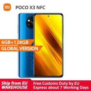 POCO X3 NFC, versión global, 6GB RAM, 128GB (DESDE ESPAÑA)