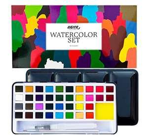 Set de Acuarelas 36 colores Nazca Colors - 40% Descuento