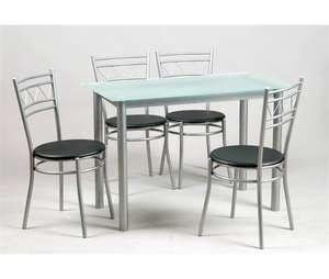 Conjunto de mesa + 4 sillas MILAN 2 (precio al tramitar)