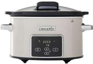 Olla eléctrica CrockPot CSC060X con dos niveles de potencia + Recetas (Tb PcComponentes)