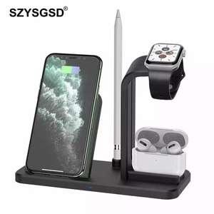 Soporte de cargador inalámbrico 3 en 1 (Iphone, Apple Watch, Airpods)