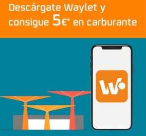 5€ en Carburante Repsol al Descargarte la APP Waylet