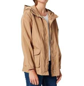 Chaqueta ligera impermeable capucha Springfield mujer talla 42 (40 a 18,40€)