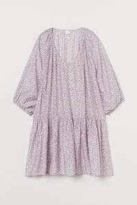 Vestido corto vaporoso