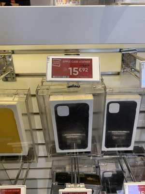 Funda iPhone 11 Pro Max piel (Fnac Splau)