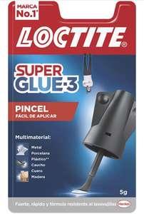 Loctite Super Glue-3 Pincel, pegamento transparente con pincel aplicador (al tramitar)