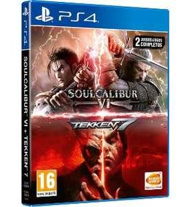 (PS4) Tekken 7 + Soulcalibur VI (Juego físico)