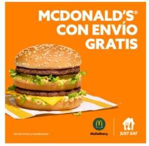 Envío gratis McDonalds