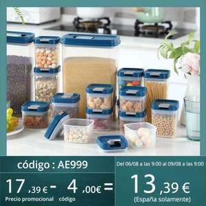 Joybos Contenedor de almacenamiento de alimentos (6 uds)