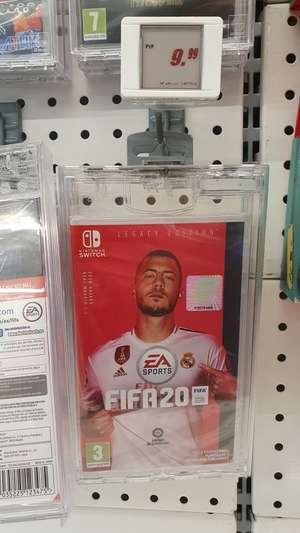 FIFA 20 Nintendo Switch por 10€ en Media Markt CC Montigalà Badalona