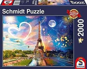 Schmidt Paris-Puzzle (2000 Piezas), diseño de día y Noche