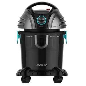 REACO: Cecotec aspirador de sólidos y líquidos conga Wet&Dry, TotalClean Potencia 1400 W (Reaco muy bueno)