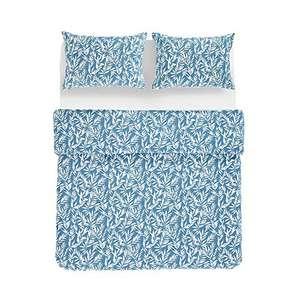 Amazon Basics - Juego de funda nórdica 100% algodón - 225 x 220 cm / 50 x 80 cm, Verde apagado.