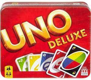 Juego de cartas UNO Deluxe