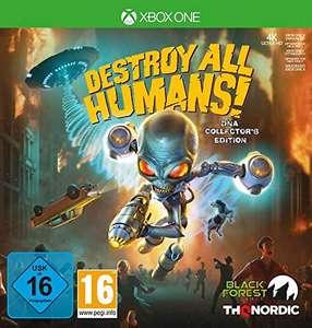 Destroy all humans edición coleccionista Xbox one
