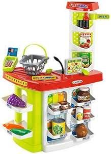 Supermercado 100% Chef con cesta y 20 accesorios