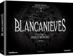 Blu-Ray + DVD + B.S.O. + Libro Edición Limitada Película Blancanieves (Pablo Berger)