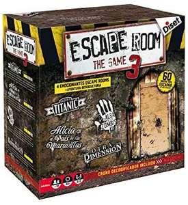 Diset - Escape Room - The Game 3 Juego de Mesa