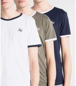 Pack tres camisetas Jack and Jones. Tallas XS a L. Otros modelos en descripción por 14€